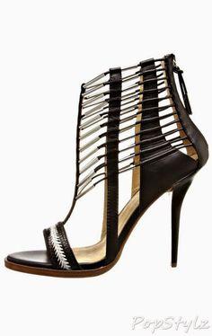 L.A.M.B Fiona Braided Leather Sandal