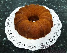 Bundt Cake para un evento solidario #sweetmoments