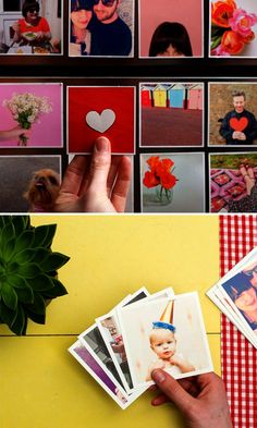 These square magnets are so cute and would make for perfect gifts.
