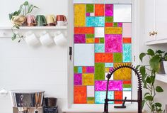 How to Make Fake Stained Glass