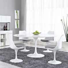 """Tulip 60"""""""" Dining Table"""