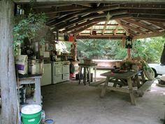 wahnsinns Outdoor-Küche