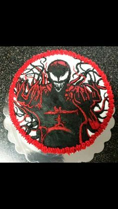 Black Venom Cake Party Ideas And Food In 2018