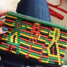 RASTA mini pouch coin purse