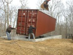 Two if by Sea: DIY Cargo Shipping Container Home on Stilts links to a shipping container house plan site! Description from pinterest.com. I searched for this on bing.com/images
