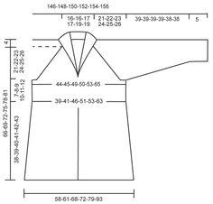 """Chaqueta a ganchillo DROPS con patrón de abanicos, raglán y cuello chal, en """"Karisma"""". Talla: S – XXXL. ~ DROPS Design"""