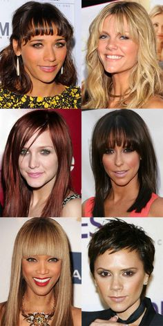 The Best (and Worst) Bangs for Inverted Triangle Faces - Beauty Editor