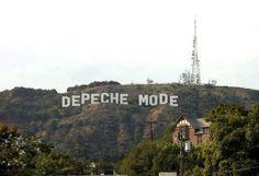 Depeche Mode goes Hollywood. #depechemode