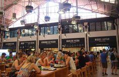Mercado da Ribeira, Lisboa - Several of Portugal's best restaurants under one roof!