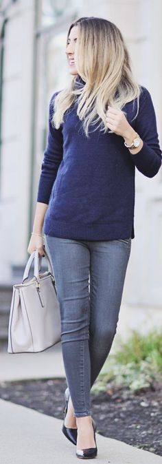 Gray Women's Skinnies by Stephanie STERJOVSKI