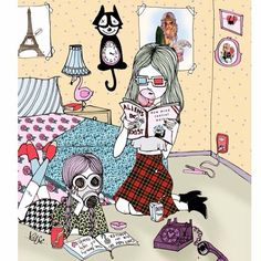 Valfre's idea of a Perfect Sunday is to stay at home with bff and read conspiracy theory articles. What's yours?