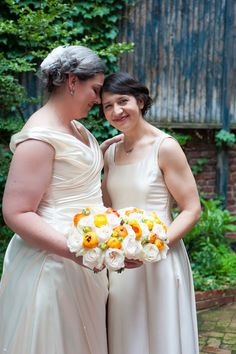 """Molly & Mel's stylish """"garden party"""" wedding at the Arts Club in Washington DC. Image by eKate Photography."""