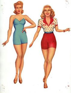 Lana Turner* The International Paper Doll Society by Arielle Gabriel for all…
