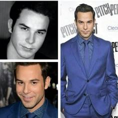 """Skylar Astin  - I'm scared to see him in anything else because of the character he played in """"Pitch Perfect"""". I fell in love with him, as that guy, not just cuz he's kinda cute."""