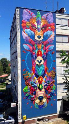 ✧¸¸.• Street.Art •.¸¸✧ ະ✧MadnessintheMethod✧ະ #streetart