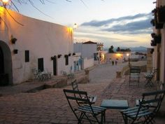 break .. peace .. amid the old streets of El Kef mountain city .. North-West Tunisia