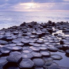 Giant's Causeway - natural rock formations