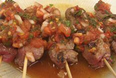 Guatemalan Chirmol, Charred tomato and mint sauce #Recipe #AmaliasRecipes