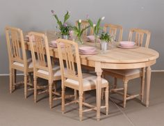 Ovaalipöytä 250x105 cm ja Druvan-tuolit. juvi.fi Decor, Furniture, Dining, Dining Table, Table, Home Decor