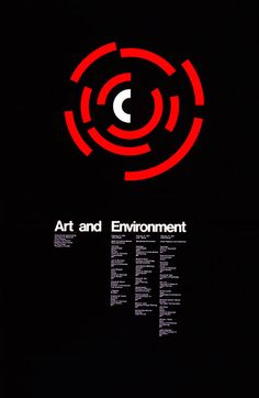 """1972 poster for three forums sponsored by MIT's Center for Advanced Visual Studies, by Jacqueline S. Image from the 1992 MIT Museum booklet, """"Posters: Jacqueline S. Years of Design at MIT"""" Jazz Music, Typography Love, Typography Poster, Interactive Art, New England Homes, International Style, Science Art, Art Store, House And Home Magazine"""
