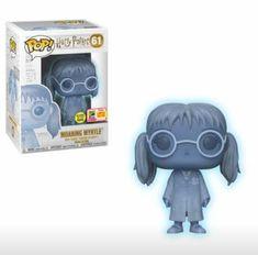 From Harry Potter, Myrtleas a stylized POP vinyl from Funko! Harry Potter Film, Harry Potter Sort, Harry Potter Pop Figures, Images Harry Potter, Funko Pop Harry Potter, Moaning Myrtle, Funko Pop Dolls, Pop Figurine, Otaku