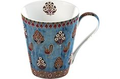 V&A Gujarat Fine Bone China Mug