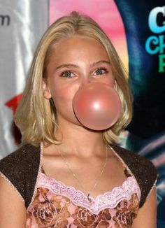 Bubble Gum Girl Charlie And The Chocolate Factory