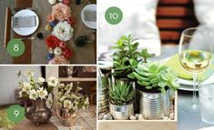 Dress up your table with one of these unique affordable DIY centerpiece ideas.