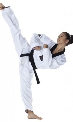 The Dax-Sports Vision Taekwondo Dobok is the perfect budget dobok for experienced practitioners of Taekwondo. Similar in style to the WTF Dobok. World Taekwondo, Taekwondo Girl, Karate Girl, Female Martial Artists, Martial Arts Women, White Belt, Judo, Pose Reference, Athlete
