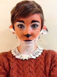Fox makeup - The Very Best Halloween Costumes on the Internet