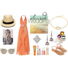 Summer Seaside Wedding by osterjewelers on Polyvore featuring Anne Sportun, Pomellato & K Brunini