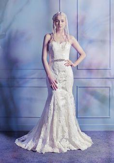 LM   Sexy Mermaid Wedding Dress - Hong Kong   LMR Weddings