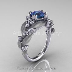 Nature Classic 14K White Gold 2.0 Ct Alexandrite by artmasters, $2599.00