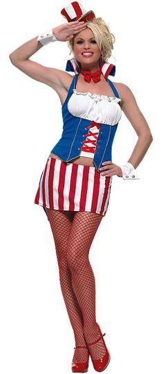 Miss Firecracker Costume