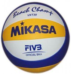 Piłka siatkowa Mikasa VXT30 – Wysokiej klasy piłka do siatkówki plażowej firmy MIKASA. Replika oficjalnej piłki Olimpijskiej VLS300. $34