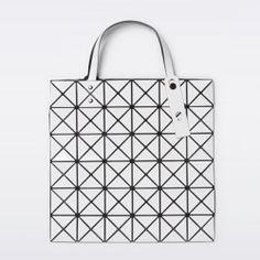Bao Bao Issey Miyake Bilbao Lucent Basics Tote Bag White Baobao Best Buy Japan | eBay