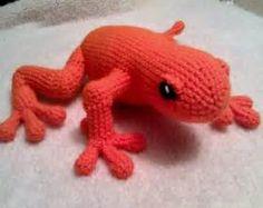 Knit frog plush   Etsy
