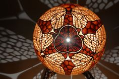 If you love the luxury lighting, then you have to see this handmade, unique butterfly lamp by Calabarte. That gourd lamp is the pinnacle of the applied art.
