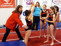 Creating complexes for gymnasts on beam and bars