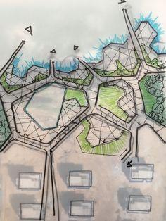 60 ideas landscaping architecture masterplan projects for 2020 Landscape Design Plans, Landscape Architecture Design, Architecture Plan, Urban Landscape, Architecture Mapping, Landscape Mode, Architecture Diagrams, Architecture Models, Architecture Student