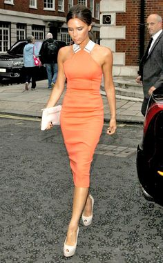 Victoria Beckham (but how I wish she would smile, just once!)