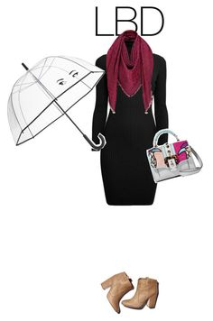 """Little Black Dress #3"" by anaiara ❤ liked on Polyvore featuring Rumour London, Kate Spade, Laurence Dacade and Paula Cademartori"