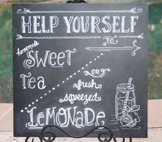 Sweet Tea and Lemonade