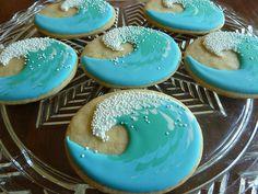 Wave cookies