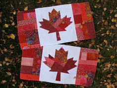 Oh Canada Quilt Pattern  PDF by CherylArkison on Etsy, $8.00