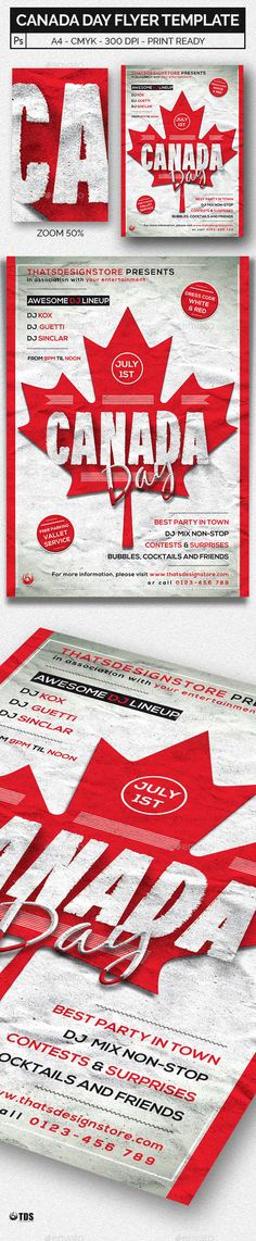 Black and Red Flyer Template V4 Party events, Flyer template and - coupon flyer template