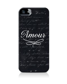 """Amour Black"" by Beverly LeFevre on iPhone 5"