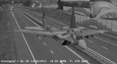 Polish Mig-29 pilot captured by speeding cam between Berlin and Poznan