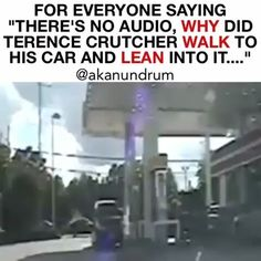 """@Regrann from @akanundrum -  DEAR NON READERS....WE ALL KNOW THIS IS NOT #TERENCECRUTCHER. YOU'RE AN IDIOT IF YOU  WATCH THIS AND DON'T REALIZE THIS PURPOSE OF THIS VIDEO IS COMPARISON. DON'T BRING YOUR SLOW ASS IN COMMENT SECTION INFORMING ME OF THE OBVIOUS WITHOUT READING: .  Imagine if this video didn't have audio.  While #TerenceCrutcher walked back to his car slowly with his hands up the police said """"he looks like a bad dude"""" -- while #TerenceCrutcher walked back to his care with his…"""