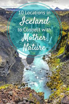 10 of the most incredible places in Iceland to visit The natural beauty of Iceland is incredible. Here are 10 of the best places in Iceland to connect with nature and mother earth. Oh The Places You'll Go, Places To Travel, Places To Visit, Iceland Travel, Iceland Hikes, Iceland Budget, Iceland Waterfalls, Iceland Adventures, Mother Nature